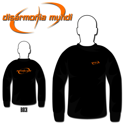 Ebroidered Orange Logo Long Sleeve