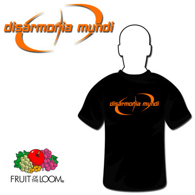 Ebroidered Orange Logo T-Shirt